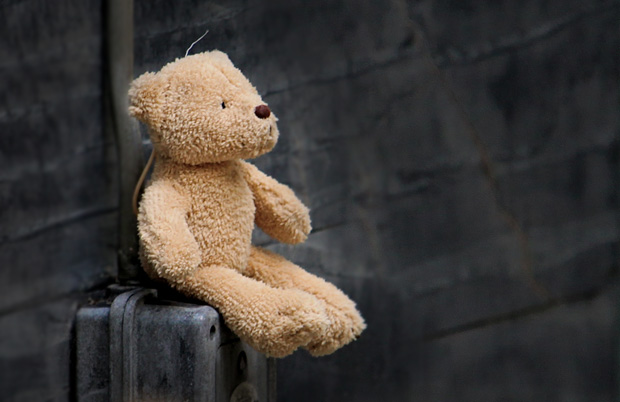 Teddybär eines Kindes