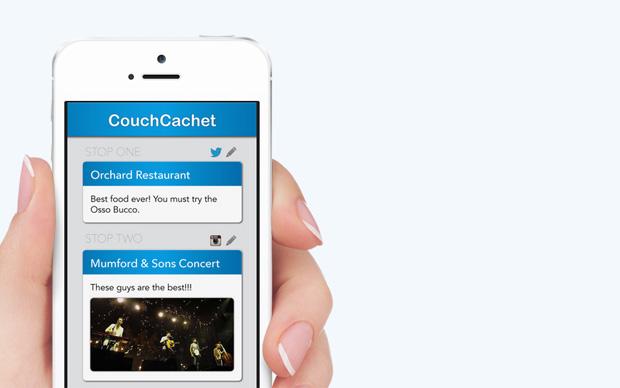 Screenshot App Couch Cachet