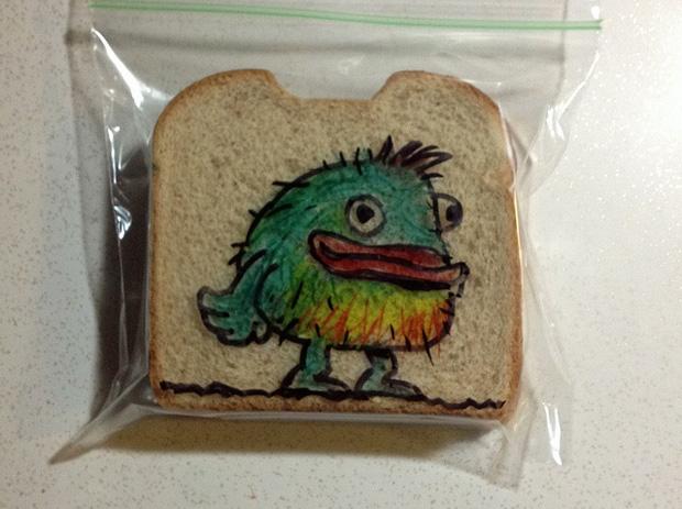 Sandwich Bag by David Laferriere