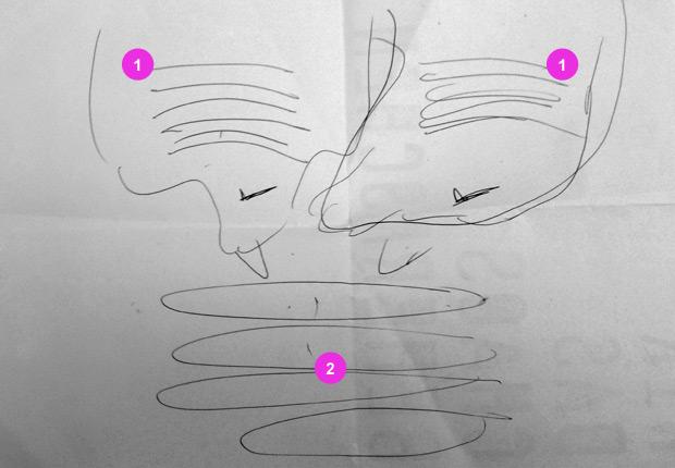 konzeption scribble
