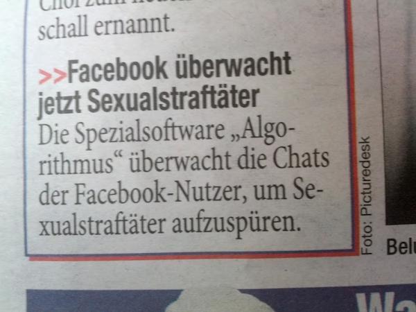 facebook überwacht sexualstraftäter mit spezialsoftware algorithmus